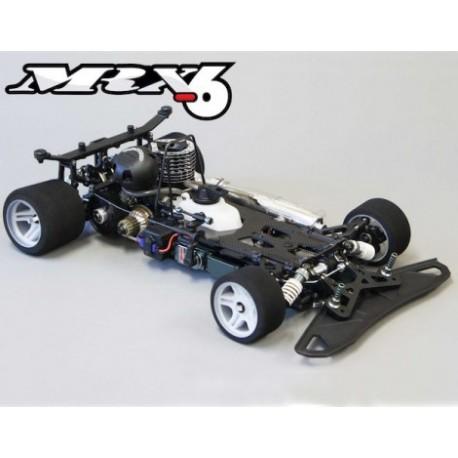 Mugen Seiki MRX6 4WD Nitro Powered Race Car (scale 1/8)