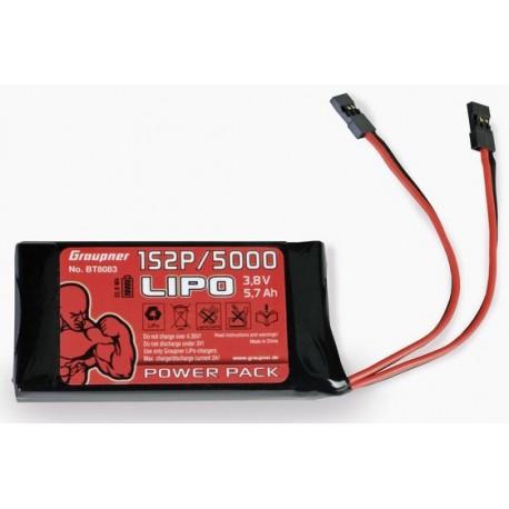 Batteria per Tx LiPo 1S2P/5000