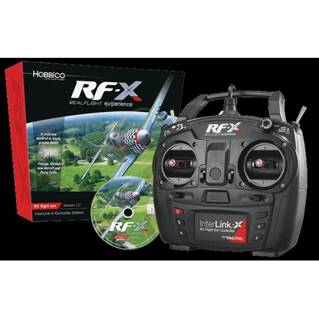 RealFlight RF-X Interlink-X Controller 1