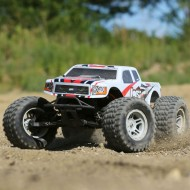 1/10 TENACITY Monster Truck 4WD RTR with AVC, White
