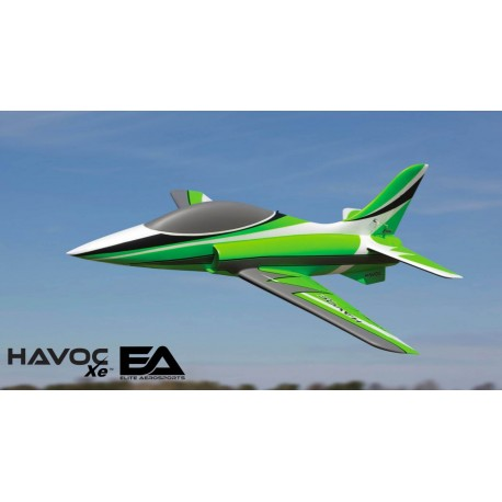 HAVOC Xe 80mm EDF Sport Jet BNF Basic with AS3X and SAFE Select