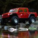 1/10 SCX10 III Jeep JT Gladiator with Portals RTR, Red