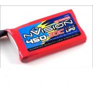 NVISION LIPO 2S 7,4V 450 20C