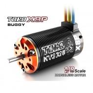 TORO X8P Buggy BL Motor Sensorless 6 Pole 18 Slot 9T, 1650KV