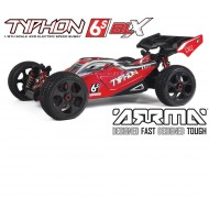 TYPHON 4WD BLX 1/8 BUGGY RTR rosso