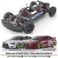 KYOSHO 1 :10 4WD EP Fazer VE-X Lancer Evolution
