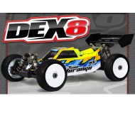 DEX8 1/8 EP 4WD Buggy Kit