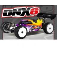 DNX8 1/8 Nitro 4WD Buggy Kit